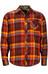 Marmot Anderson overhemd en blouse lange mouwen Heren oranje/rood